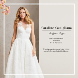 Caroline Castigliano at Sarah Elizabeth Bridal