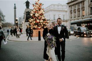 Real bride at Sarah Elizabeth Bridal Boutique